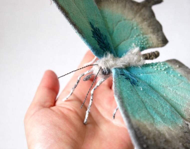 Текстильные шедевры, или Бабочки как источник вдохновения, фото № 35
