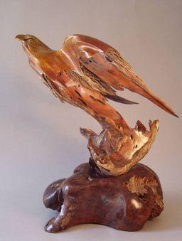 J. Christopher White.  Изящные деревянные скульптуры. Двадцать четвертая