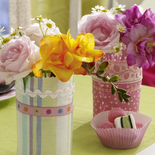 Своим руками ваза цветочный