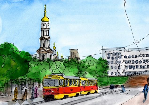 Путешествуем с Михаилом Щербаковым (Vokabre): быстрые зарисовки акварелью, фото № 39