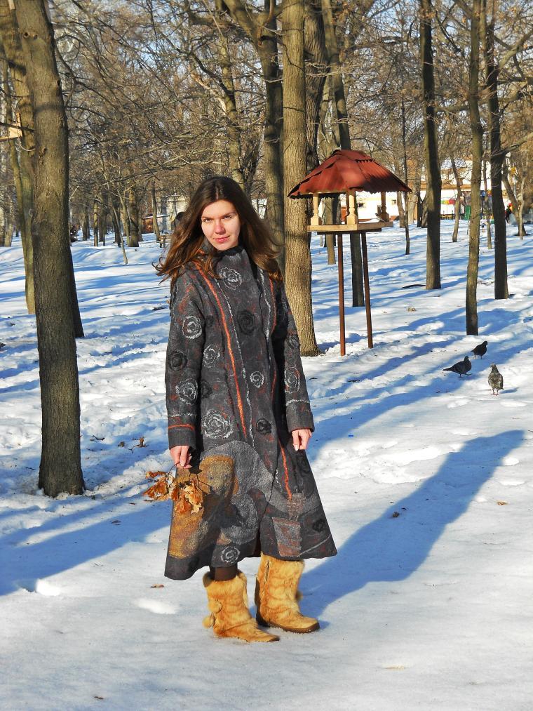 дизайн пальто