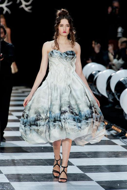 Franck Sorbier Haute Couture весна-лето 2014, фото № 13
