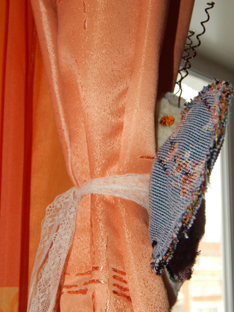 бабочка, текстильная бабочка