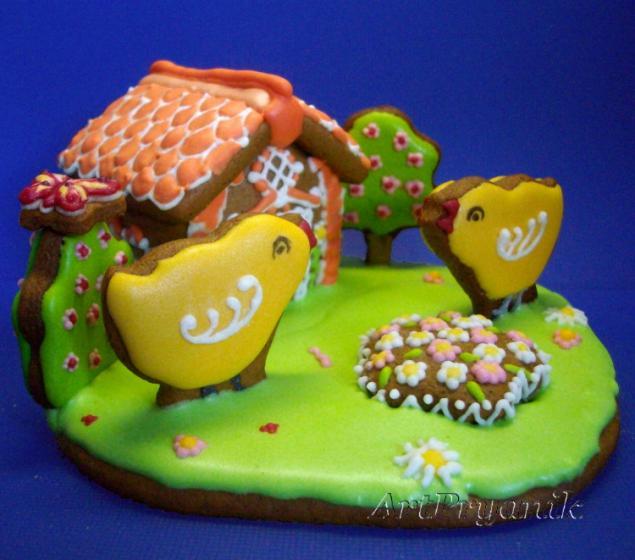 имбирное печенье, роспись пряников, архангельские козули, пряничные композиции