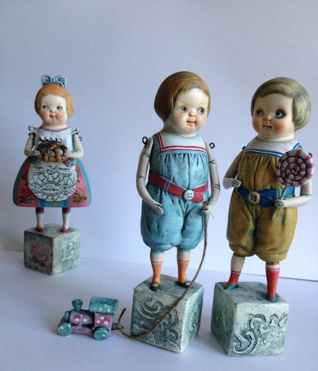 ретро, куклы