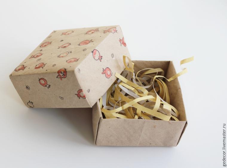Как сделать крафт коробку 592