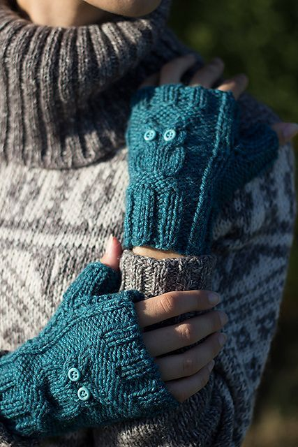 free fingerless gloves pattern