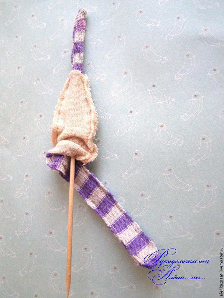 Мастерим куклу-подвеску «Бабочка» по мотивам Лалалупси, фото № 15