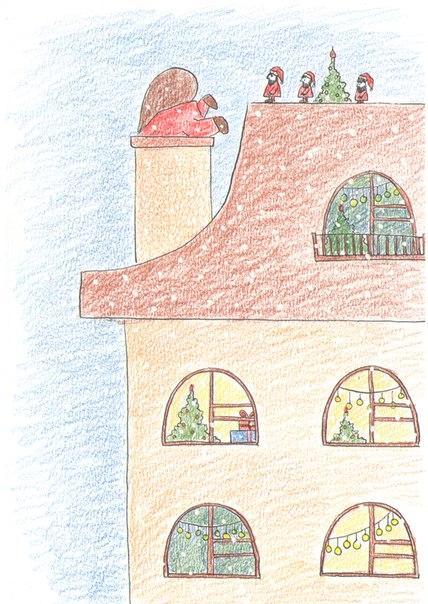 розыгрыш, конфетка, открытка, авторская открытка, открытка в подарок, новогодняя открытка, новый год