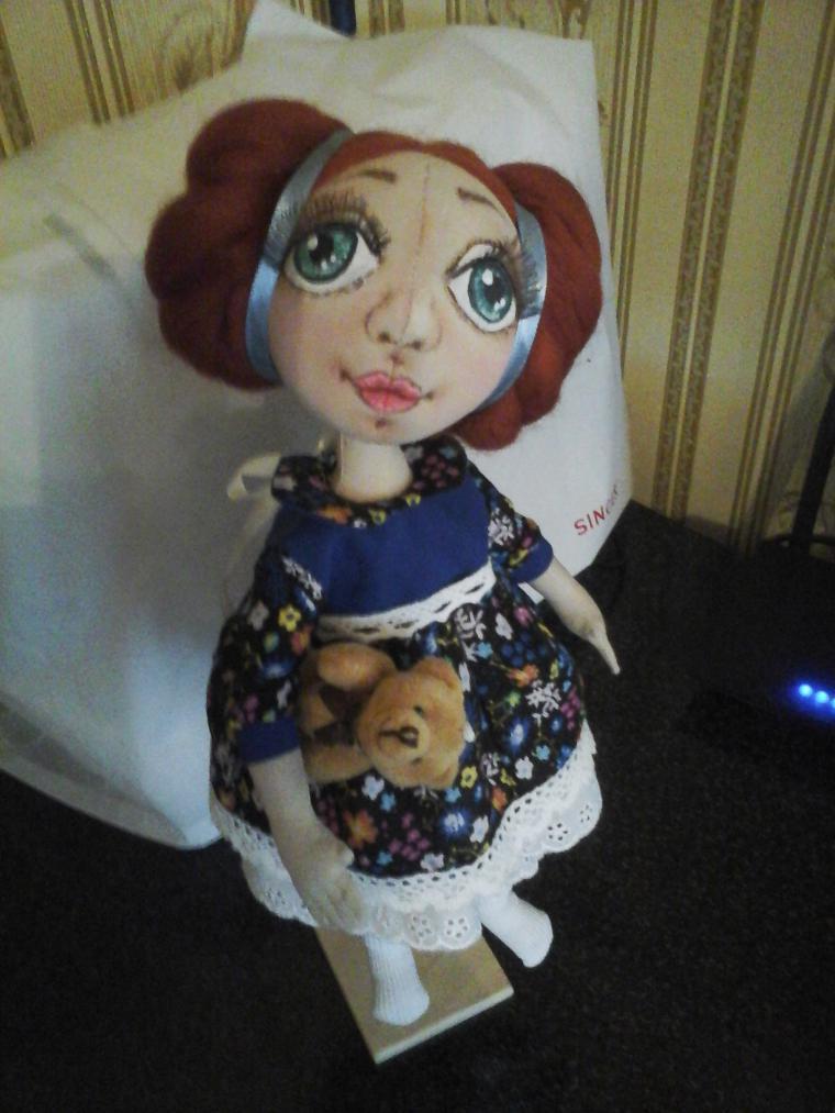 кукла в подарок, интерьерная игрушка