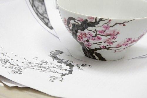 мастер-класс, роспись по керамике, мк по росписи, цветочная роспись
