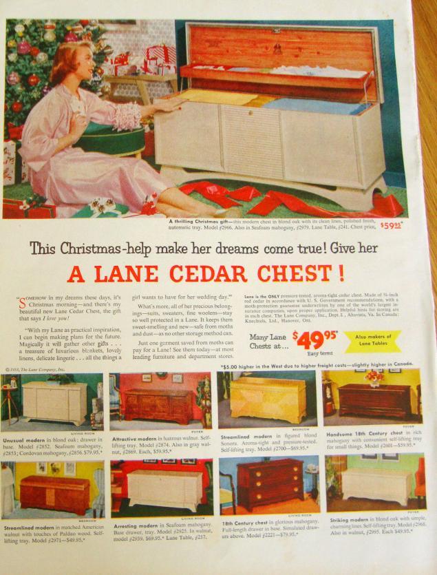 Новогодняя реклама Vintage/1951 -1956 включительно, фото № 29