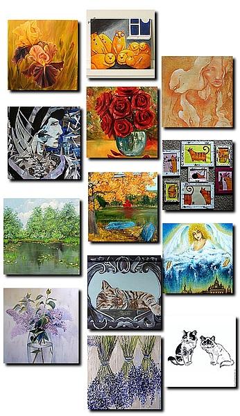 художники, галерея
