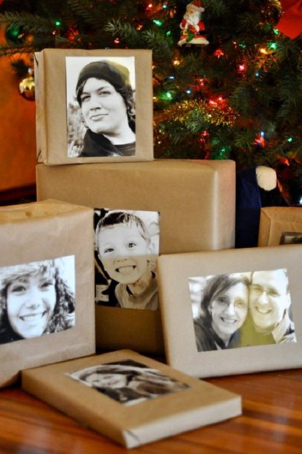 подарок из фотографий на новый год рту говна