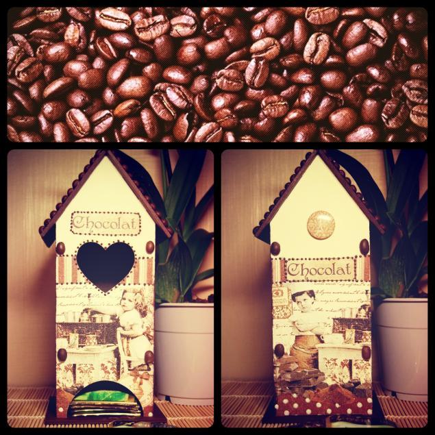 лаванда, кофе