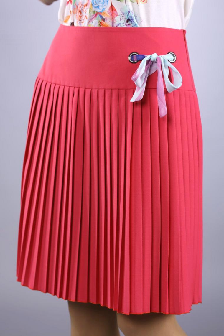 Как сделать плиссировку юбки