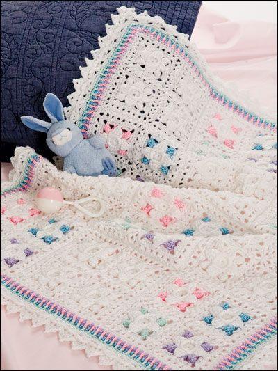 Patricia Kristoffersen's Beautiful Borders Baby Blankets