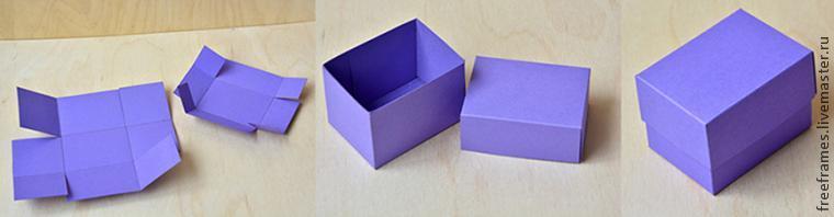 Как сделать коробочку заданного размера - Ярмарка Мастеров - ручная работа, handmade