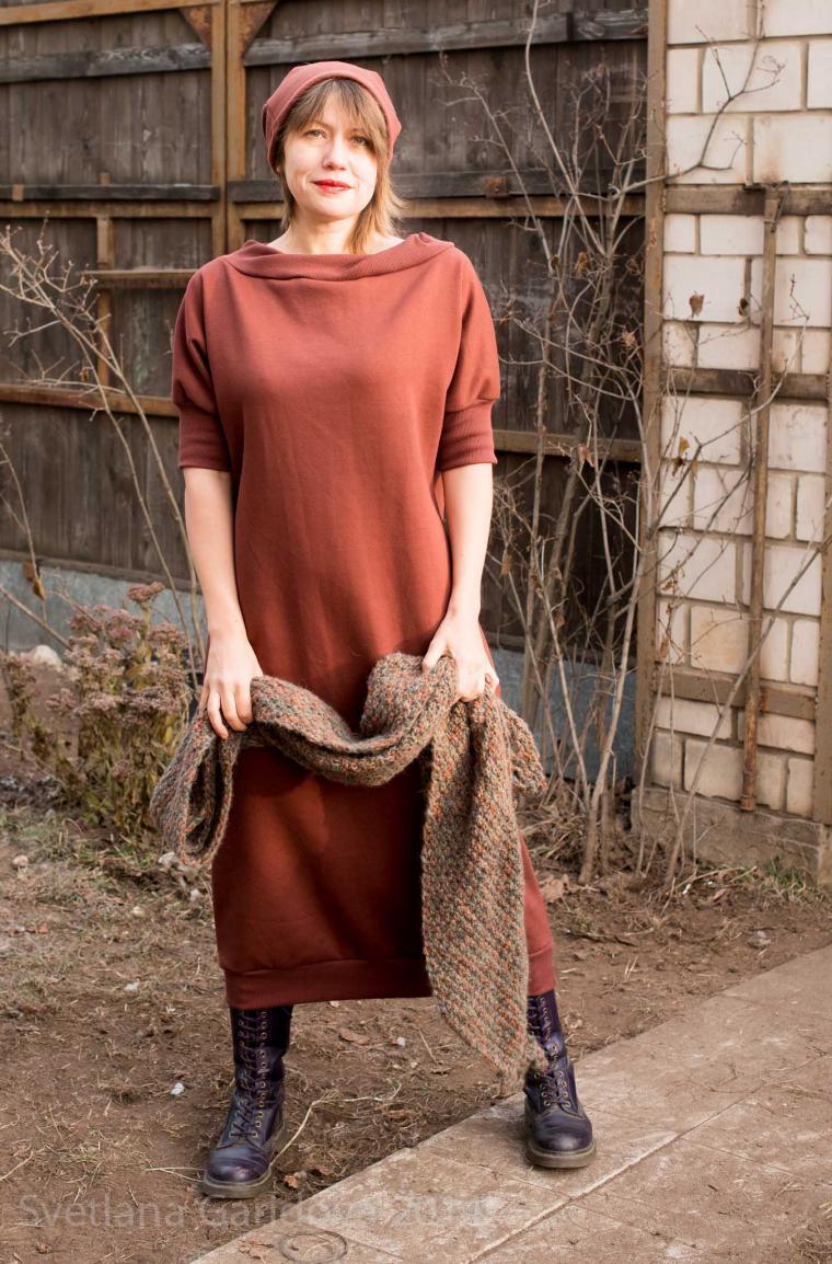 sagadress, теплое платье
