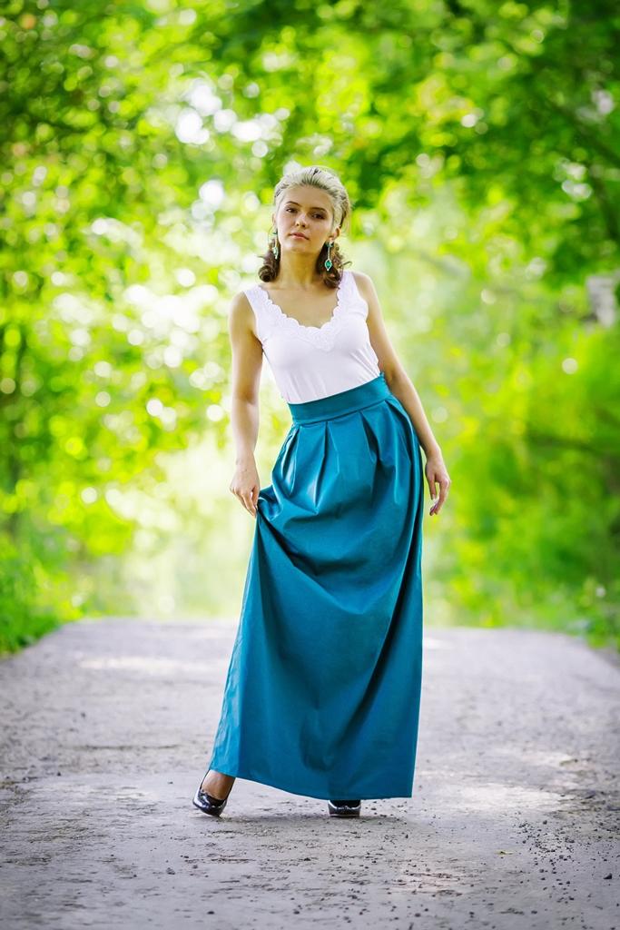 юбки-макси, людмила сметанкина