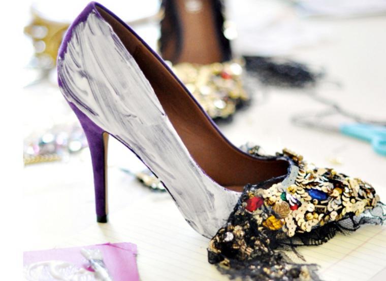 Фото туфли своими руками