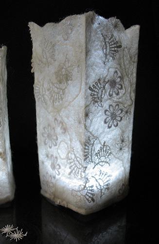 Шерстяные светильники