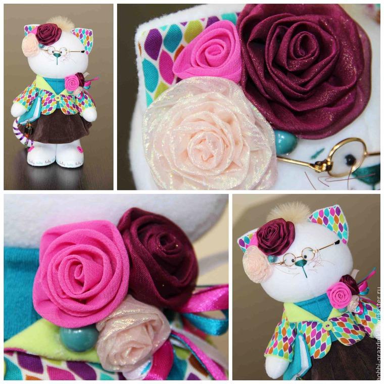 роза из шёлка, мастер-класс по цветам, красивый цветок, цветы ручной работы