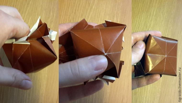 Оригами: пасхальная курочка, фото № 21