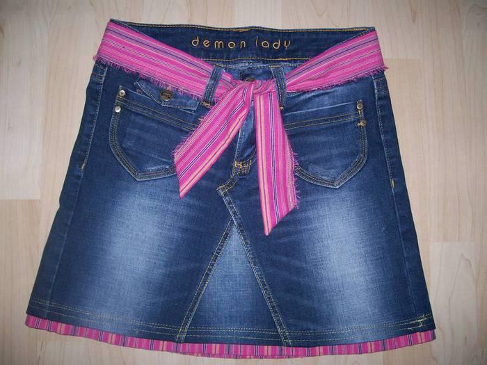 Как сделать юбку из старых вещей