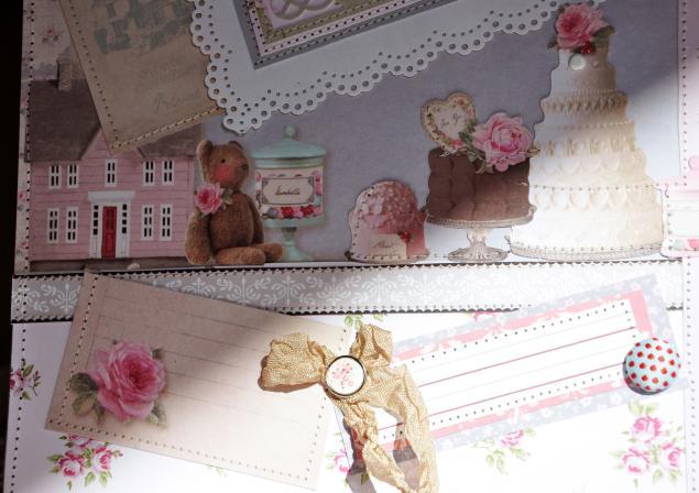 альбом для фото, подарок женщине, сладости, розовый, кружева
