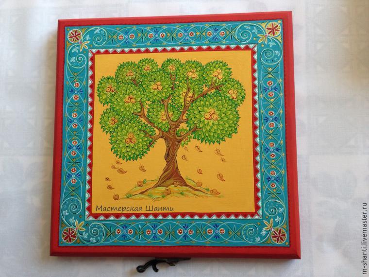 Расписываем яркую шкатулку-развивайку для детей, фото № 29