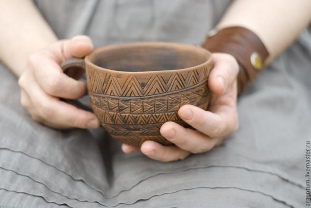 Как сделать глиняную кружку