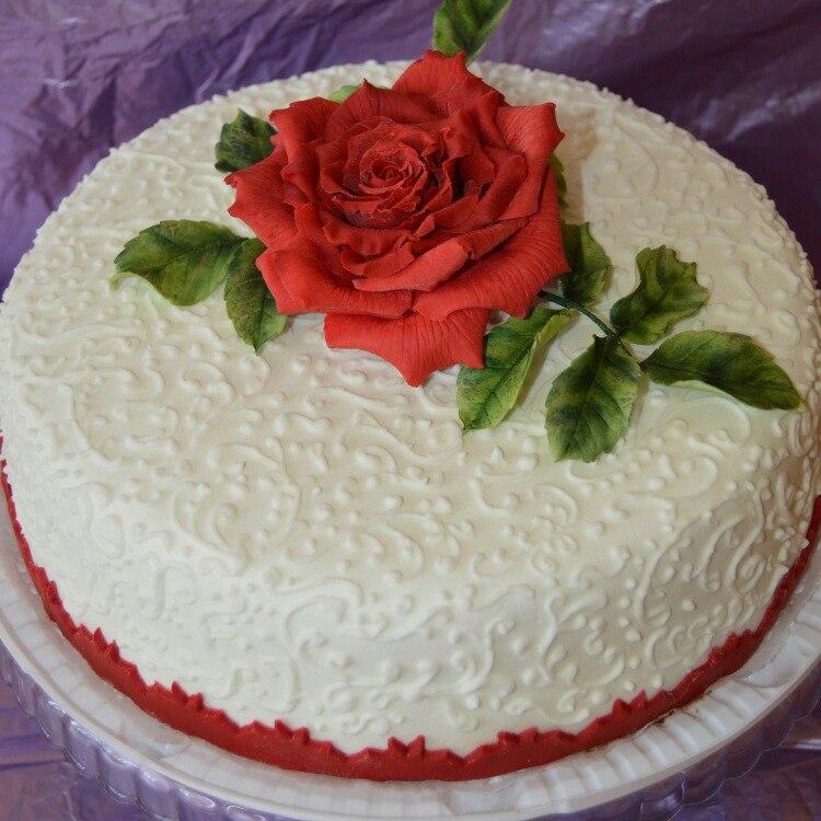 торт, тортики, мастика, полимерная глина, полимерная флористика