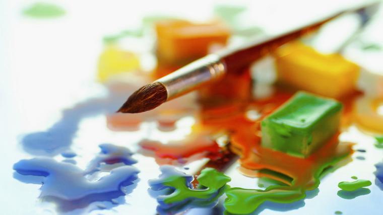мастер-класс, масло, масляная живопись, дети