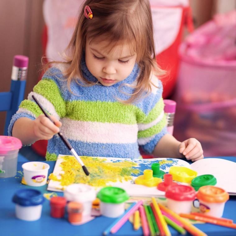 мастер-класс, мастер-класс для детей, дети, масло, масляная живопись