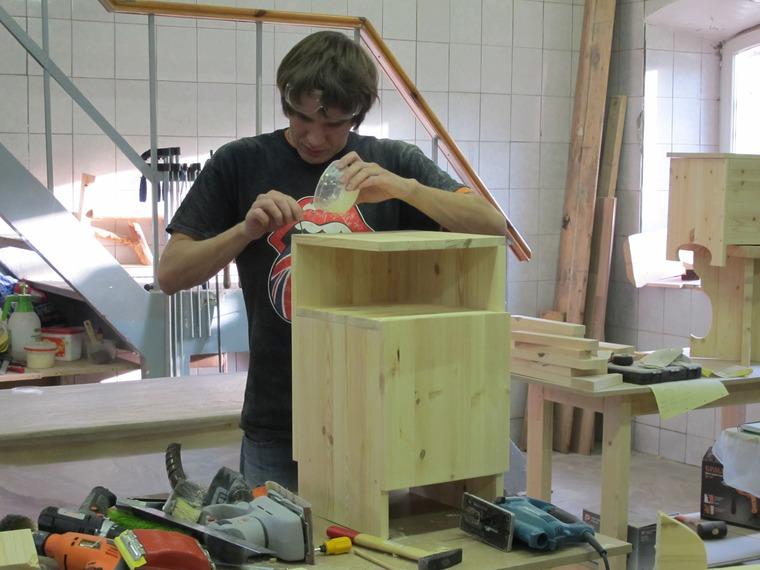 мастер - класс по мебели