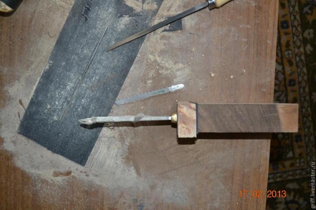 Чертежи рукояток для ножей