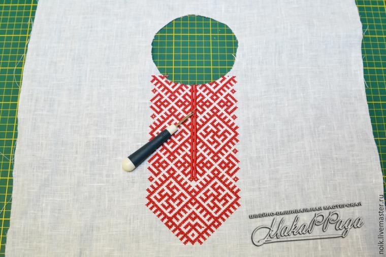 Как сшить славянскую рубаху своими руками 5