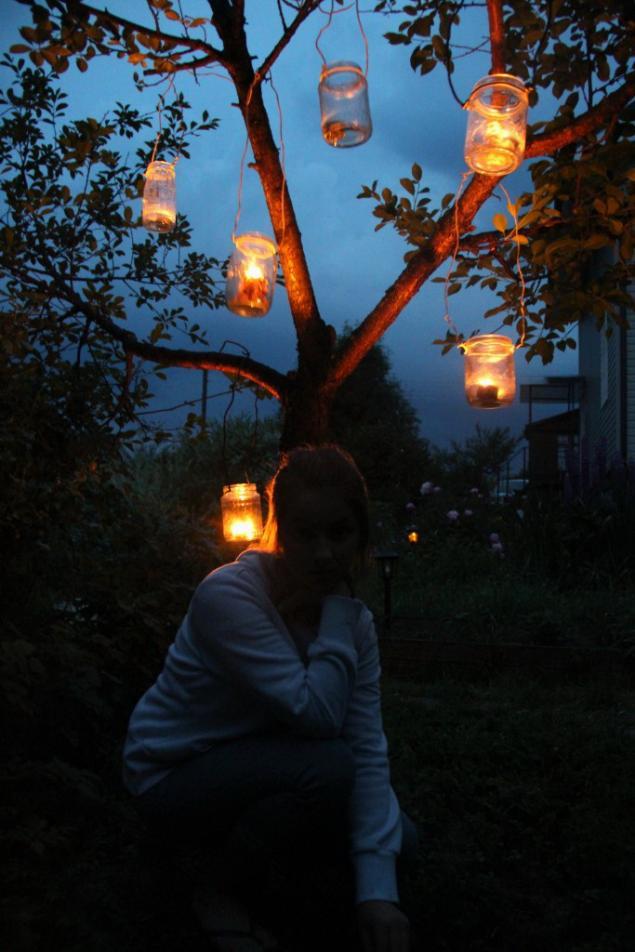освещение, освещение на даче, детский мастер класс