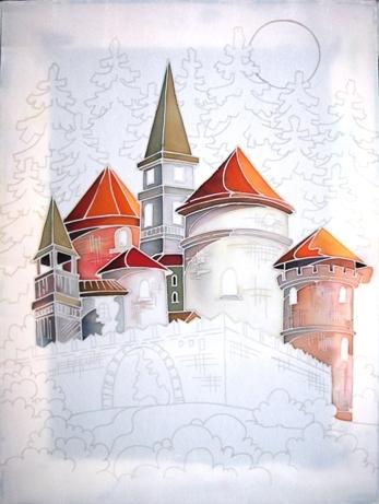 Замок. Мастер-класс