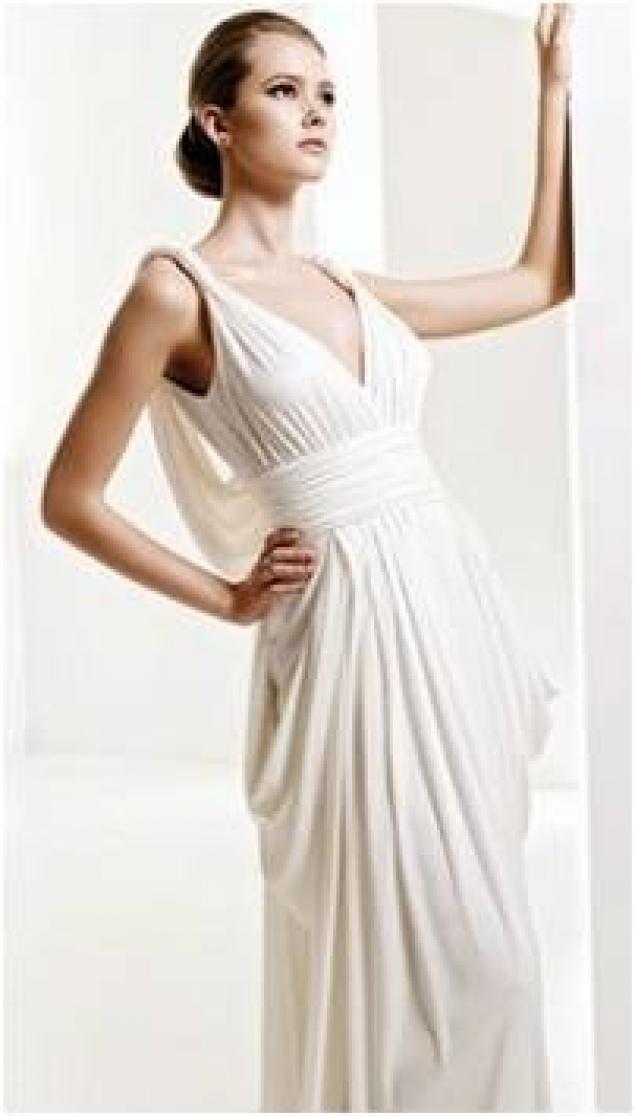 фасон греческих платьев вечерних