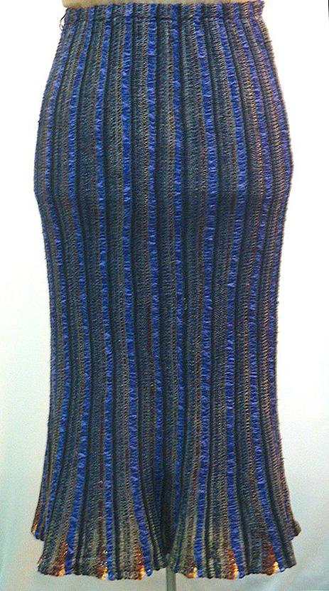 елена кондрина, юбка вязаная