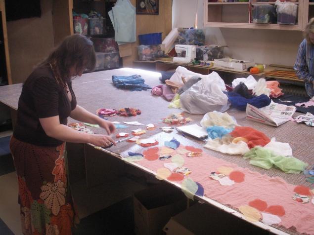 декорирование ткани, курсы в москве