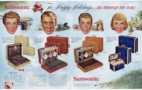 Новогодняя реклама Vintage/1951 -1956 включительно, фото № 11