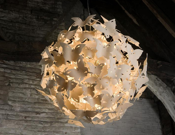 Бабочки как элемент дизайна интерьера, фото № 12