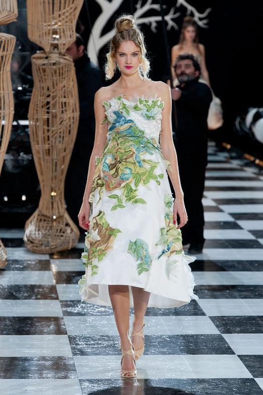 Franck Sorbier Haute Couture весна-лето 2014, фото № 15