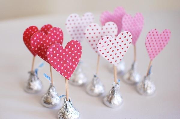Конфеты валентинки своими руками