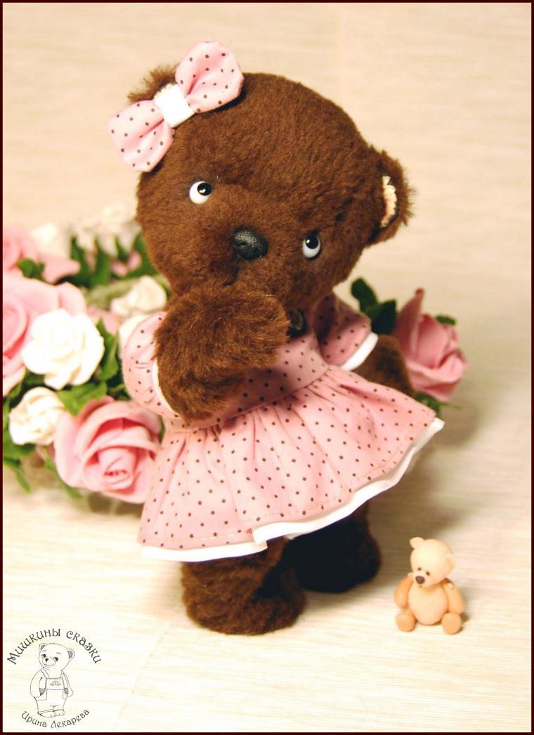 коллекционные мишки, одетый мишка, teddy bear