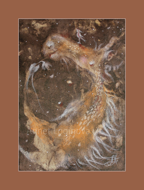 овечки, пастель, картина пастелью, картины для детской