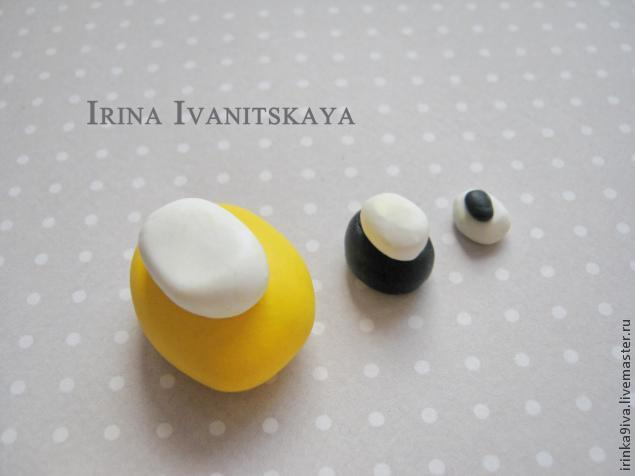 DIY Cheese Earrings of Polymer Clay, фото № 2